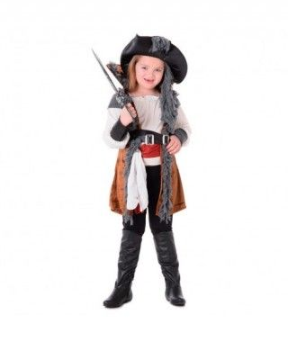 Disfraz Pirata Chica niña infantil para Carnaval
