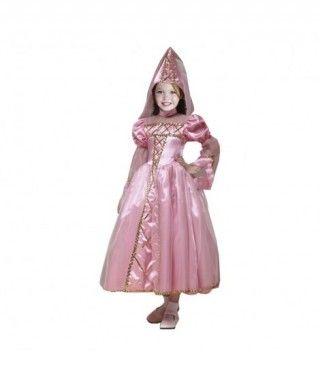 Disfraz Princesa Rosa niña infantil para Carnaval