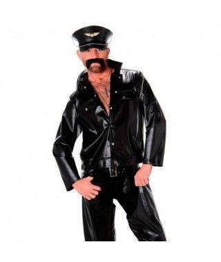 Disfraz Motero hombre adulto para Carnaval