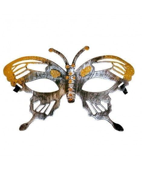Antifaz Mariposa Hierro