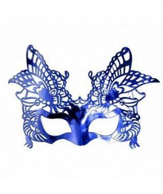 Antifaz fantasía metalizado accesorio Carnaval