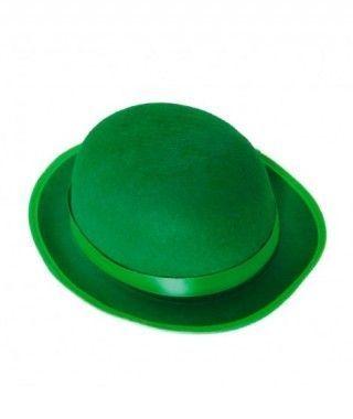 Bombín verde infantil de fieltro Accesorio fiesta
