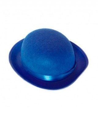 Bombín azul infantil de fieltro Accesorio fiesta