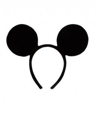 Diadema de Orejas de Mickey Mouse Accesorio Carnaval