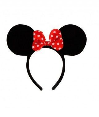 Diadema de Orejas de Minnie Mouse Accesorio Carnaval