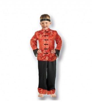 Disfraz Chino niño infantil para Carnaval