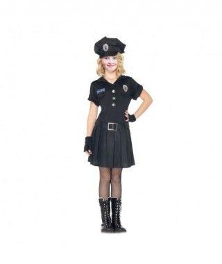 Disfraz Policía niña...