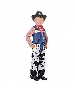 Disfraz de Vaquero Cowboy niño infantil para Carnaval