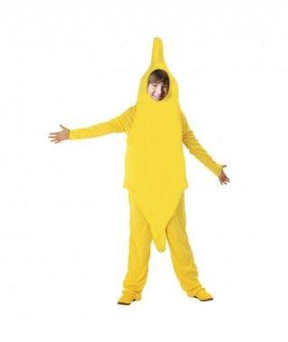 Disfraz de Plátano infantil para Carnaval