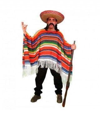 Disfraz Mejicano hombre adulto para Carnaval