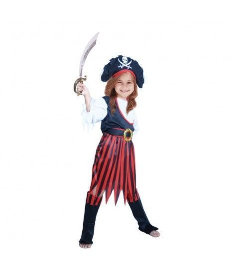 Disfraz Corsaria niña infantil para Carnaval
