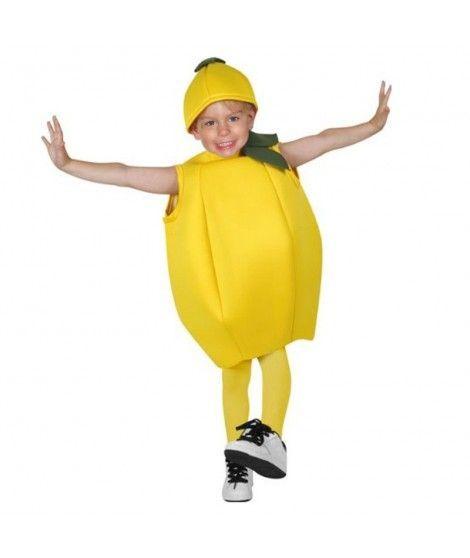 Disfraz Limón Infantil para Carnaval