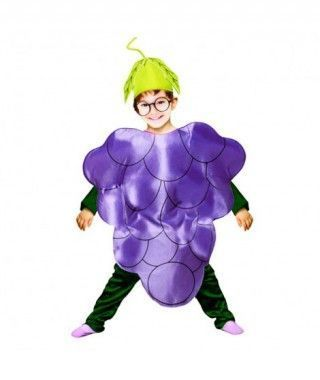 Disfraz Uva infantil para Carnaval