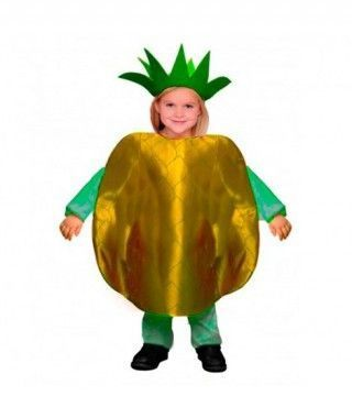 Disfraz Piña infantil para Carnaval
