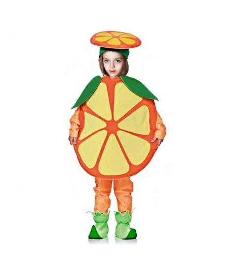 Disfraz Naranja Infantil para Carnaval
