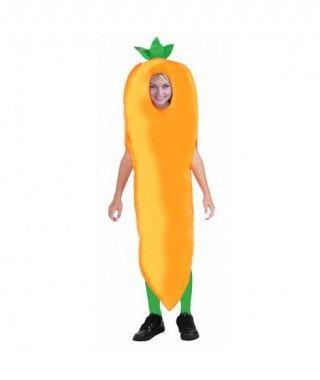 Disfraz Zanahoria infantil para Carnaval