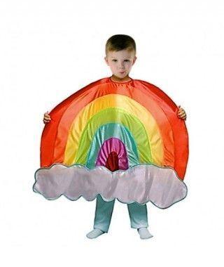Disfraz de Arco Iris infantil para Carnaval