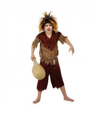 Disfraz de Cavernícola niño infantil para Carnaval
