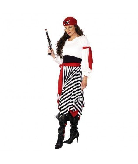 Disfraz Bucanera mujer adulto para Carnaval