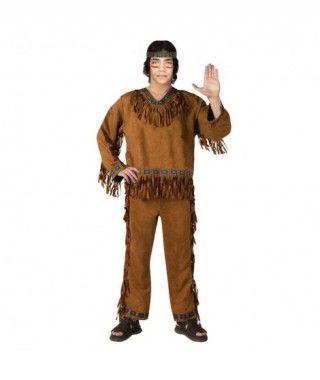 Disfraz Indio hombre adulto para Carnaval