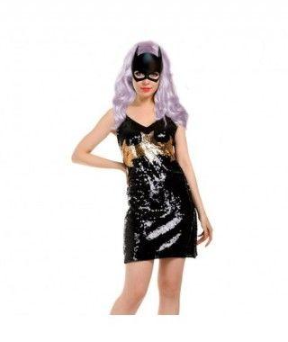 Disfraz Heroína Bat mujer adulto para Carnaval