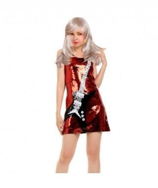 Disfraz Rock Star mujer adulto para Carnaval