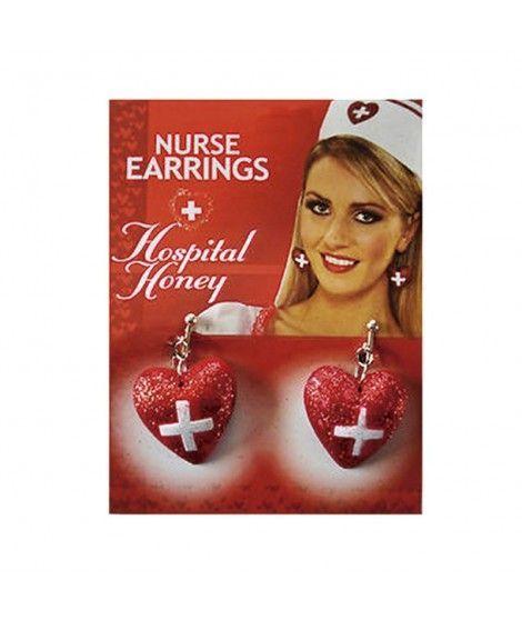 Pendientes de Enfermera Accesorio Carnaval