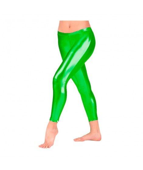 Malla metalizada infantil verde Accesorio Baile