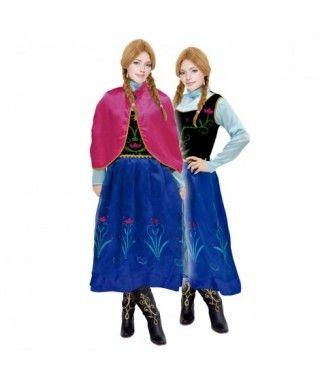 Disfraz Princesa de Nieve mujer adulto para Carnaval