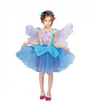 Disfraz Hada Azul niña infantil para Carnaval