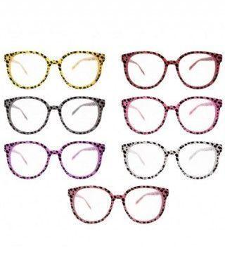 Gafas Montura Leopardo Retro Años 50