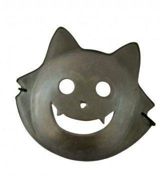 Máscara Gato Negro goma eva accesorio Halloween