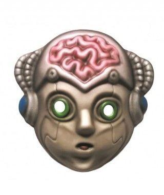 Máscara Robot Cyborg goma eva accesorio Halloween