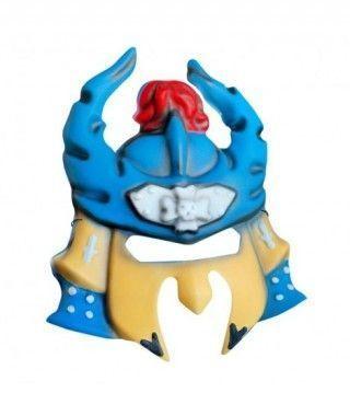 Máscara Samurai goma eva accesorio Halloween