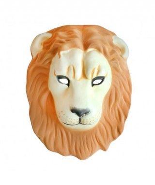 Máscara León goma eva accesorio Carnaval