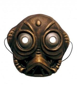 Máscara Robot Extraterrestre infantil goma eva accesorio Carnaval