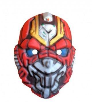 Máscara Máquina Robot goma eva accesorio Carnaval