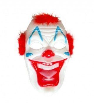 Máscara Payaso Sádico plástico accesorio Halloween