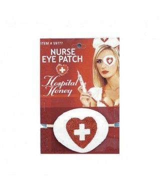 Parche de Enfermera Accesorio Carnaval