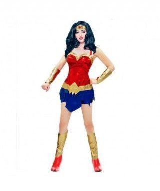 Disfraz Heroína Diosa Guerrera mujer adulto para Carnaval
