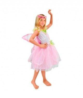 Disfraz Hada rosa niña infantil para Carnaval