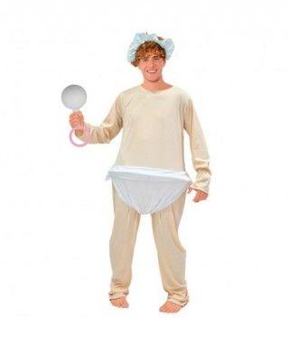 Disfraz Bebé Llorón hombre adulto para Carnaval
