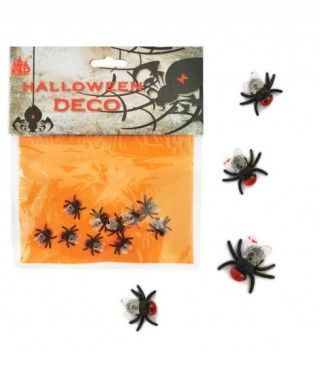 Moscas Decoración Halloween (10 uds)