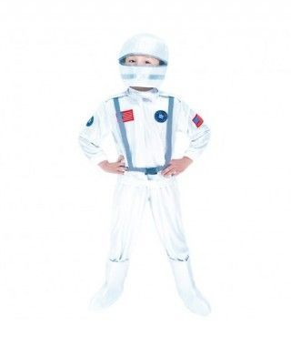 Disfraz Astronauta plateado niño infantil para Carnaval