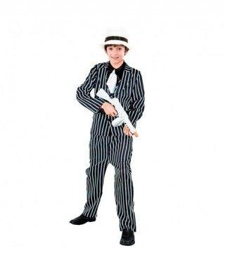 Disfraz Gangster traje niño infantil para Carnaval