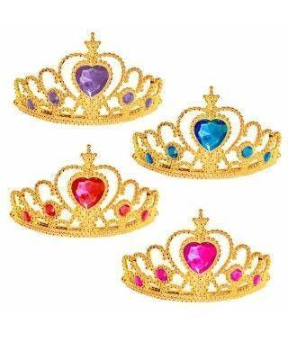 Corona Tiara de Princesa Corazones Accesorio