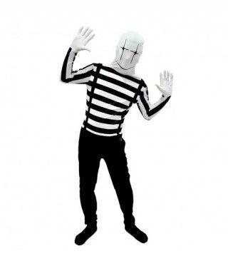 Disfraz Mimo Segunda Piel adulto para Carnaval