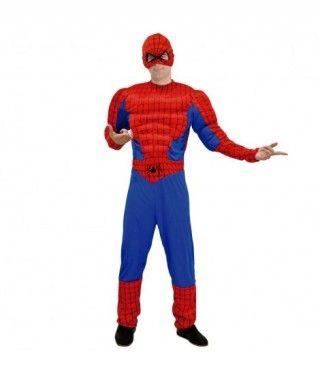 Disfraz Spider Héroe hombre adulto para Carnaval