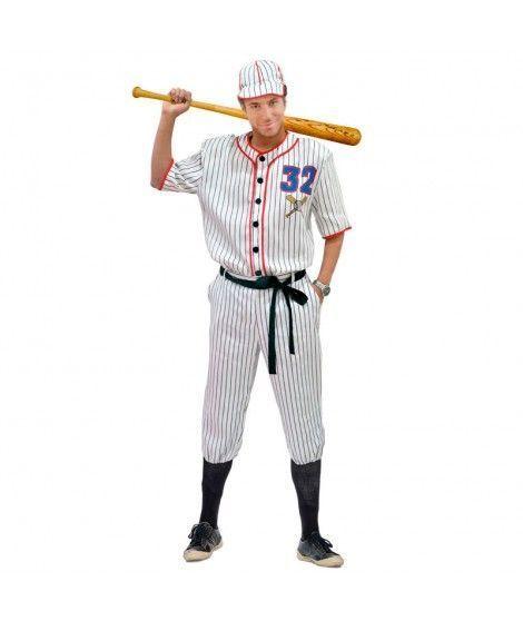 Disfraz Baseball Player hombre adulto para Carnaval. 2a743d021bb