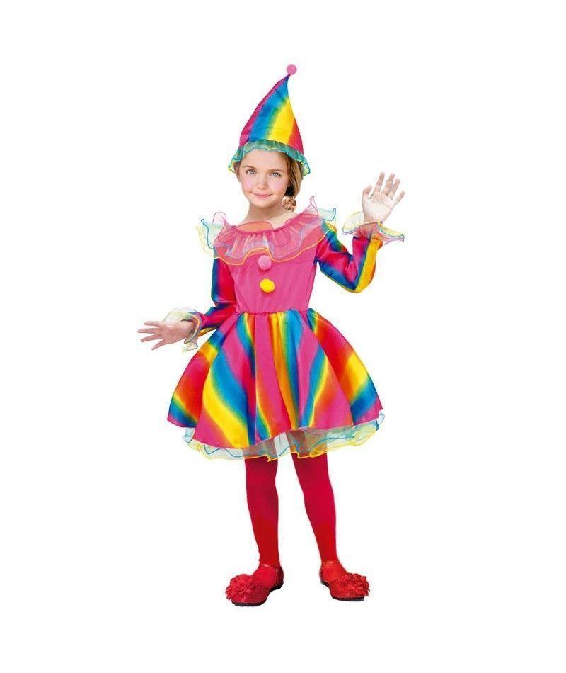 Disfraz payasa ni a infantil para carnaval - Disfraces para bebe nina ...